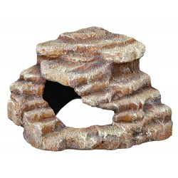 Corner rock with cave and platform 27 x 21 x 27 cm Decoration and other Trixie TR-76208