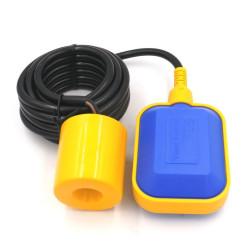 Régulateur de niveau à flotteur modèle rectangulaire - longueur du câble 5 ml arrosage DISTRILABO DI-NIVA05