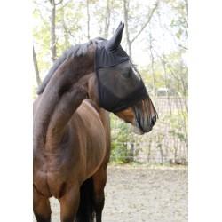 Masque anti-mouche protection oreille et franges naseaux soins chevaux  kerbl KE-321268D