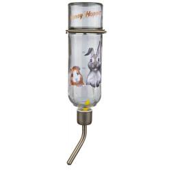 TR-60447 Trixie Botella de vidrio Honey & Hopper de 500 ML para animales Tazones, distribuidores