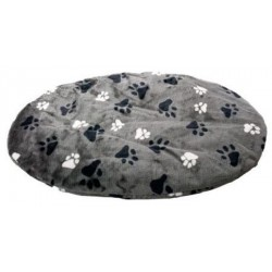 oval grey pillow 50 x 40 x 40 x 4 cm for dog Dodo Flamingo FL-61196