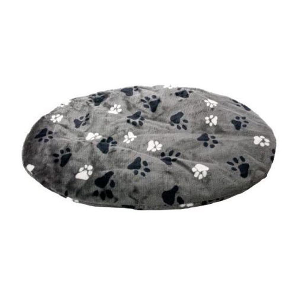 coussin ovale gris 50 x 40 x 4 cm pour chien Dodo Flamingo FL-61196