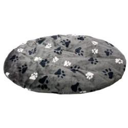 coussin ovale gris 50 x 60 x 4 cm pour chien Dodo Flamingo FL-61197