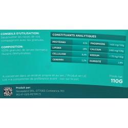 novealand nahrungsergänzungsmittel für Ihre Katze Granulat aus dehydrierten Larven von Hermetia illucens 110 Gramm GR2-110-CA...