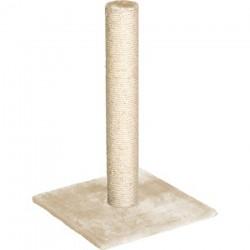 griffoire chat polset large beige 38 x 38 x 59 cm Griffoirs et grattoir Flamingo FL-1031266