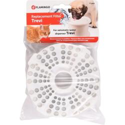 Flamingo Filter für Wasserkühler, TREVI 3L, Satz à 2 Stück. FL-517944 Springbrunnen