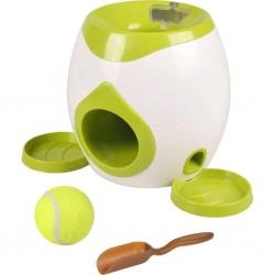 Jouet automatique balle et friandises pour chien - Jeux a récompense friandise  Flamingo FL-517922