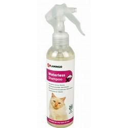 Flamingo Shampoo per gatti a secco 200 ml FL-1033328 Trattamento di bellezza