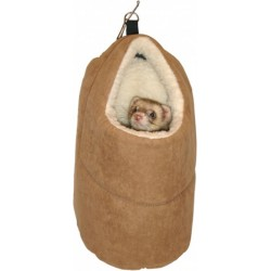 Flamingo Pet Products Ferret house, size 18 x 21 x 31 cm. for ferrets. Beds, hammocks, nesters