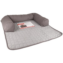 Protection de canapé conrad gris 90 x 90 x 16 cm. pour chien Dodo Flamingo FL-519199