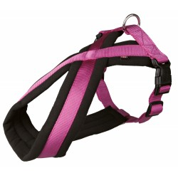 Harnais T XS 26-38 cm violet et noir pour chien harnais chien Trixie TR-20208