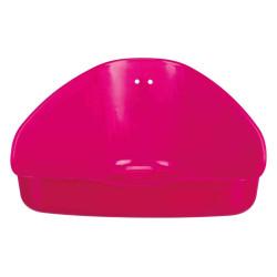 Trixie 16 X 7 X 12 CM Bac à litière d'angle. pour hamsters , souris TR-6254 Bacs a litière