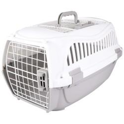 Flamingo Cage de transport, taille S 37 x 57 X h 33 cm, pour chien, couleur gris FL-517572 Cage de transport
