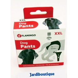 DOG CULOTTE T XXL -60 A 70 cm BLACK dog training cleanliness Flamingo FL-500916