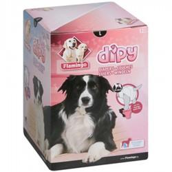 Flamingo COUCHES L 42 à 62 cm DIPY 12 Pieces. - POUR CHIENS FL-510587 éducation propreté chien