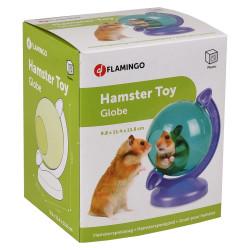 Globe Terrestre vert violet pour petit rongeur Jeux, jouets, activités Flamingo FL-210116