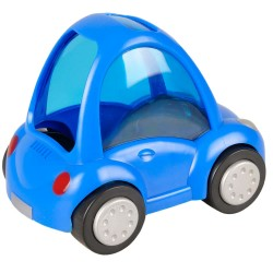 BLUE CAR 14 x 9 x 11 cm FOR SMALL RUB Games, toys, activities Flamingo FL-210118