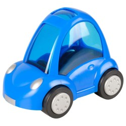 Flamingo FL-210118 Blue car, 14 x 9 x 11 cm, for rodent decoration. Games, toys, activities