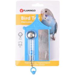 Flamingo Jouet pour perruche hercules avec un miroir. oiseaux. FL-110108 Jouets