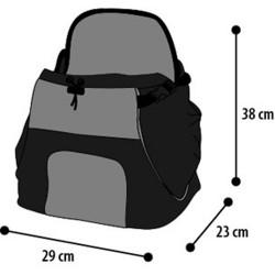 SAC VENTRAL SYBIL POUR CHIEN OU CHAT 29x23x38CM sacs de transport Flamingo FL-518123