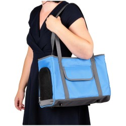 SAC DE TRANSPORT pour chien ADILE 40 x 22 x 28cm sacs de transport Flamingo FL-518116