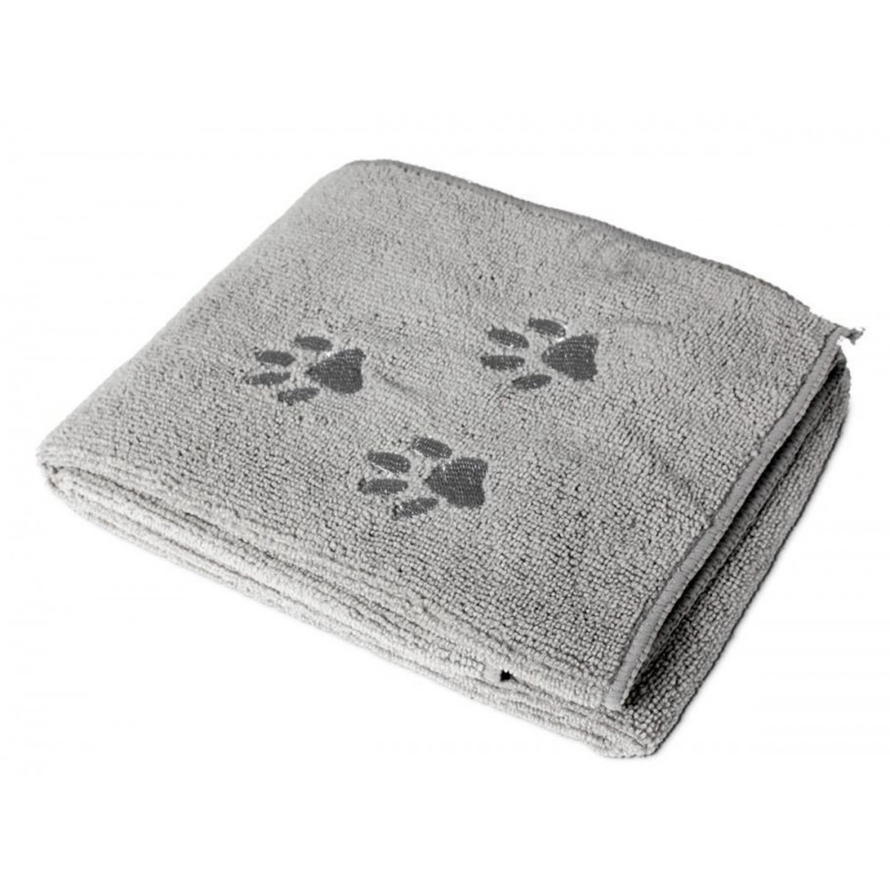 Flamingo FL-512217 Super absorbent microfiber towel grey 50 x 80 cm Care and hygiene