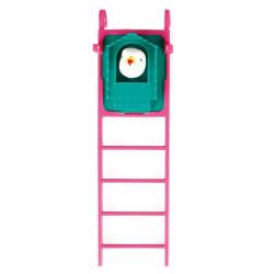 Flamingo Jouet pour oiseaux miroir balles et échelle FL-100318 Jouets
