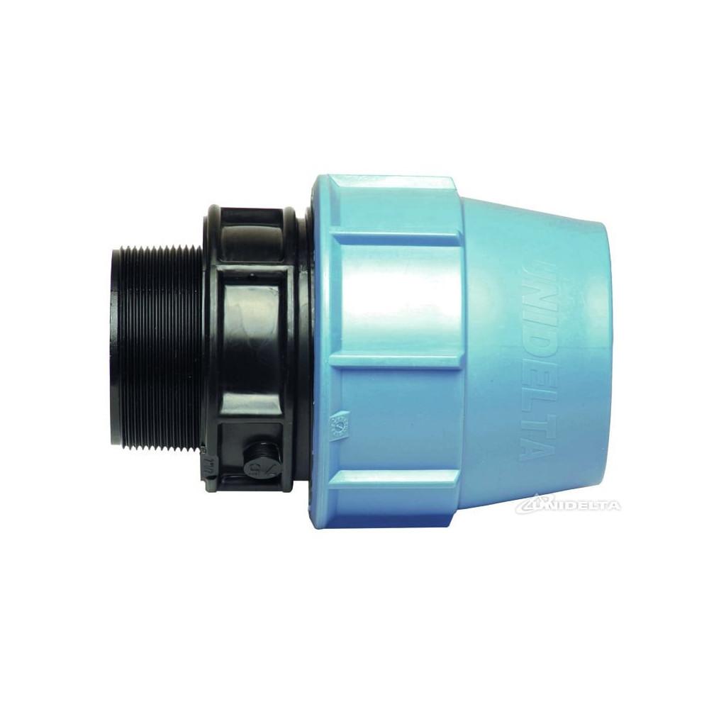 UNIDELTA SO-URF323/4 ø 32 - 3/4 Male thread compression fitting Compression fitting
