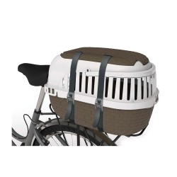 Bama pet Cage de transport Tour Taupe XS 33 X 52 X 34 CM FL-517589 Cage de transport