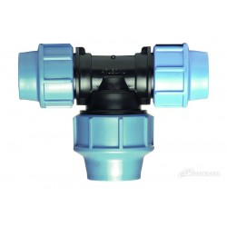 UNIDELTA SO-UT32 ø 32 mm 90° tee with compression Compression fitting