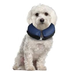Flamingo Aufblasbares Halsband für Hunde M 25 - 40 cm FL-513237 Pflege und Hygiene