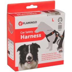 Harnais de sécurité pour voiture - Taille L / 50-70 cm pour chien Aménagement voiture Flamingo FL-1032111