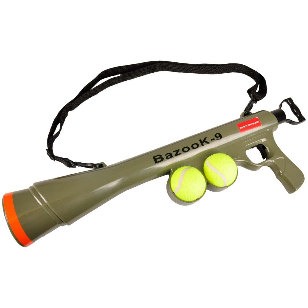 Lanceur de Balle avec 2 Balles de Tennis Jouet pour Chiens Jouet Flamingo FL-517029