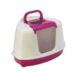 """Flamingo Maison de toilette """"Flip"""" d'angle hawai pour chat couleur aléaoire FL-560034 Maison de toilette"""