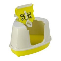 """Maison de toilette """"Flip"""" d'angle hawai pour chat Maison de toilette Flamingo FL-560034"""