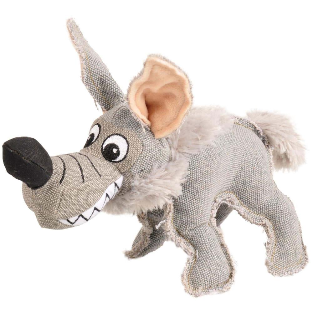 Peluche Coyote jouet pour chien 28 cm Jouet Flamingo FL-516779