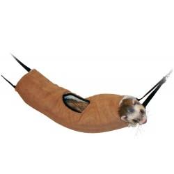 FL-208210 Flamingo Pet Products Túnel para hurones, marrón , ø16 cm x 35 cm . Camas, hamacas, nidos