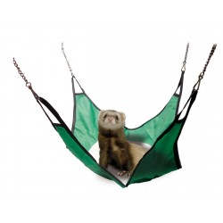 Fabric Hammock for Ferrets 29 x 29 cm Beds, hammocks, nesters Flamingo FL-208202