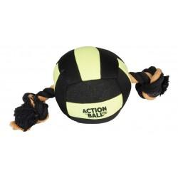 FL-5345438 Flamingo pelota acuática para perro Negro/Amarillo 18 cm Jeux
