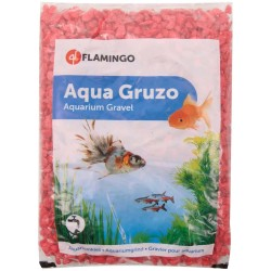 Flamingo Gravier brillant Néon rouge 1 kg aquarium FL-410086 Sols, substrats