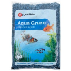 Flamingo FL-410085 Brilliant gravel Dark blue neon 1 kg aquarium Soils, substrates, substrates