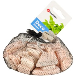 Ardoise plates rose 1 kg pour aquarium Sols, substrats Flamingo FL-400098