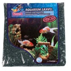 Flamingo Pet Products Neon black gravel, 1 kg, for aquarium. Soils, substrates, substrates