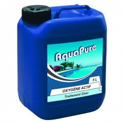 Générique Liquid Active Oxygen 5 Liters, AQUAPURE for your pool. Treatment product