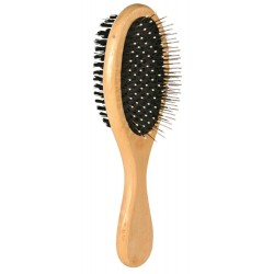 Double-sided wooden brush 6 x 21 cm Care and hygiene Trixie TR-2315