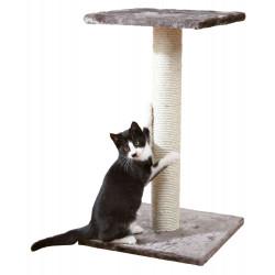 TR-43342 Trixie Arbre à chat, 40 par 40 cm, hauteur 69 cm, Espejo, couleur gris platinium. Arbre a chat, griffoir