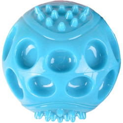 Jouet Balle bleu 8 cm Wido Squeak TPR pour chien Jouet Flamingo FL-519495