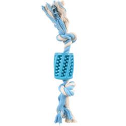 Toy Hose + rope blue 30 cm Lindo TPR for dog Flamingo toy FL-519496