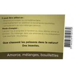 Amorce pour la pêche a basse d'insectes 100 % naturel - 110 grammes Pêches et appâts novealand GR2-110-PE