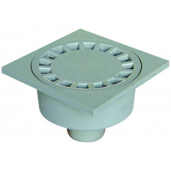 Interplast IN-SASSIP10540G GREY GREY 100X100 SOL SIPHON ø 40 MM Plumbing